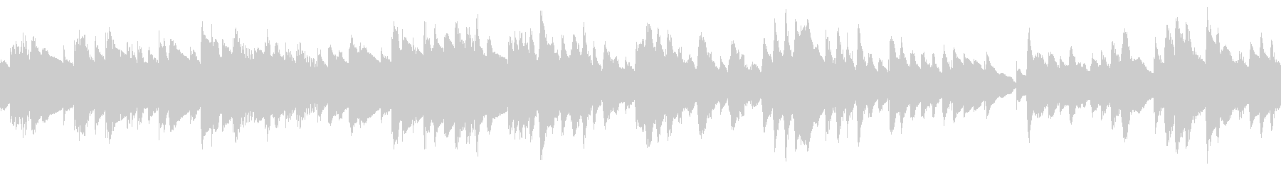 ループ もの哀しい静かな曲 ビブラフォンの未再生の波形
