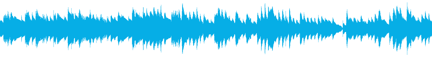 ループ もの哀しい静かな曲 ビブラフォンの再生済みの波形