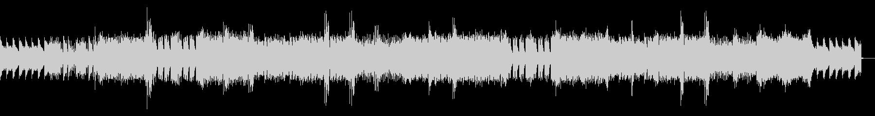 スポーツピアノハウスEDMの未再生の波形