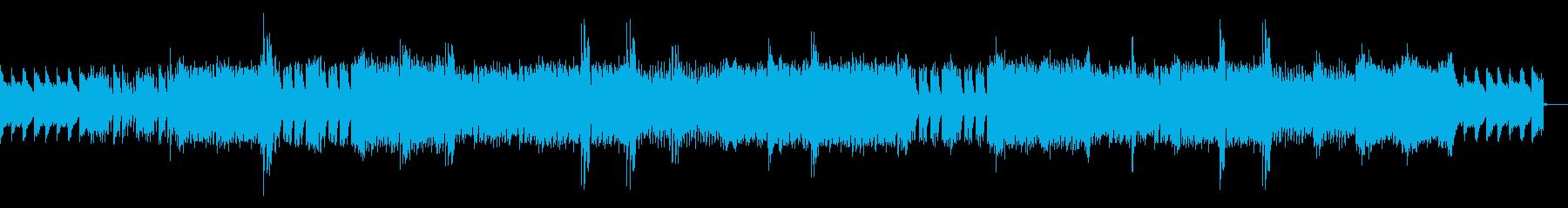 スポーツピアノハウスEDMの再生済みの波形