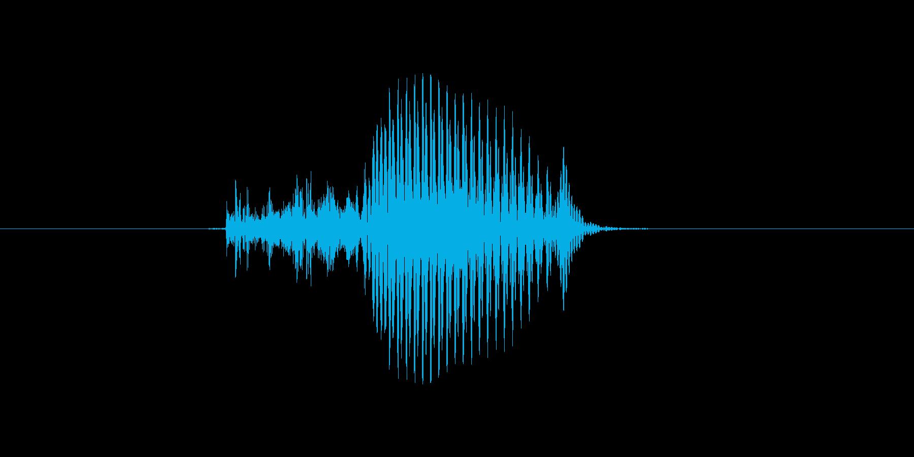 9(9、く)の再生済みの波形