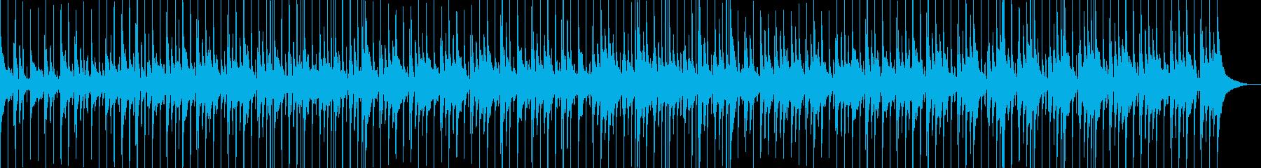 ハッピーでミッドテンポのインストゥ...の再生済みの波形
