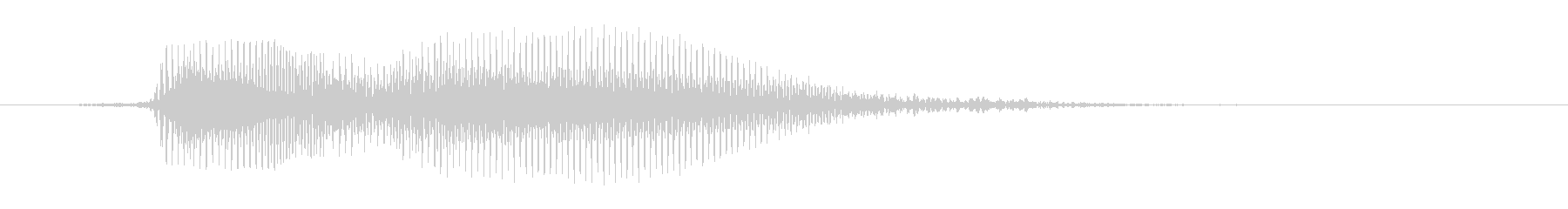 あっ(軽く驚いて)の未再生の波形