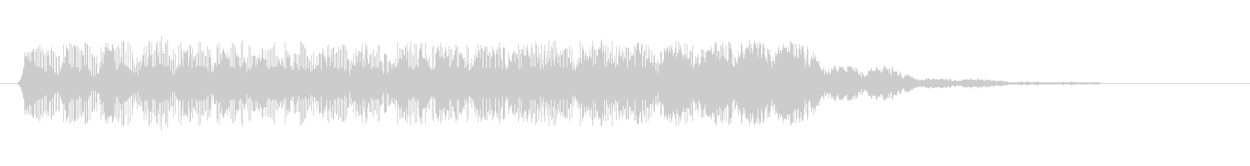 ファミコン風効果音 ポップアップ・上昇 の未再生の波形