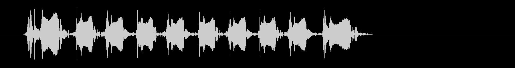 レーザー音-150-3の未再生の波形