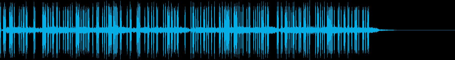 ビリビリ (漏電、電気音)の再生済みの波形