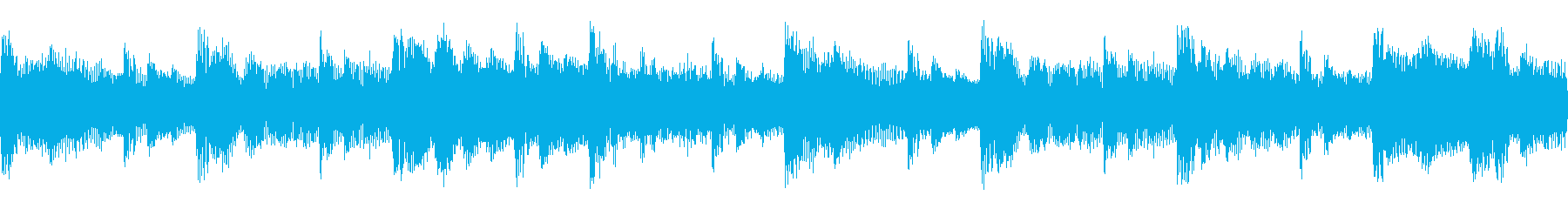 ドラムンベース おしゃれ ループの再生済みの波形