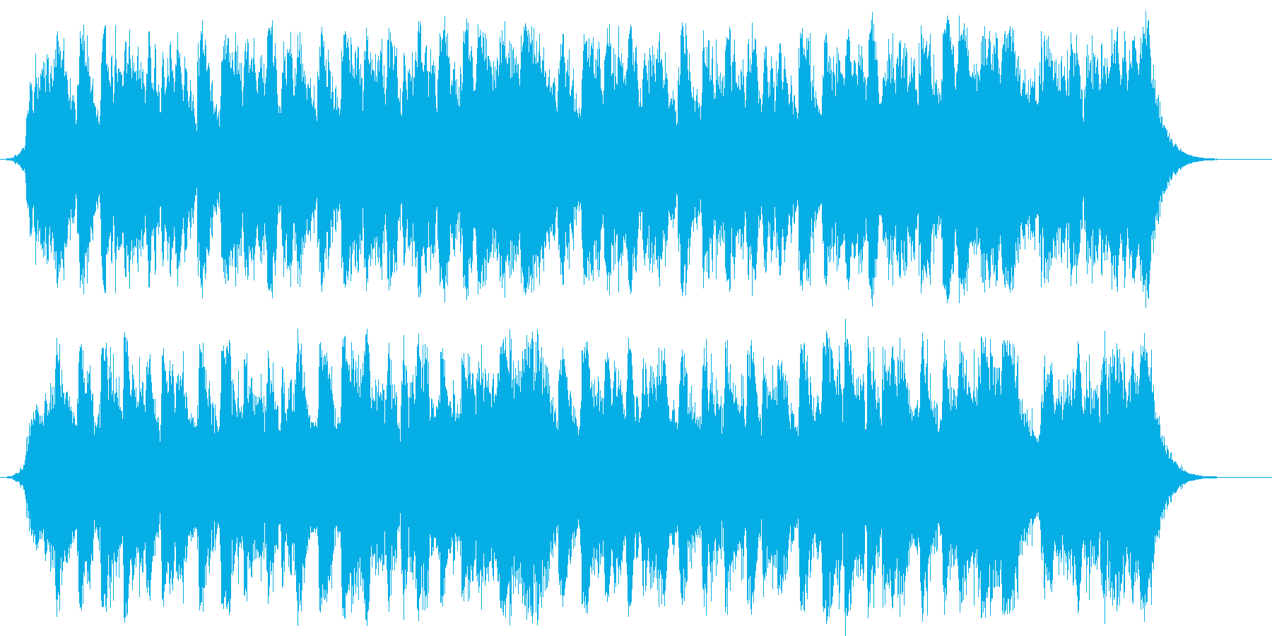 戦国大戦 和風オーケストラの合戦バトルの再生済みの波形