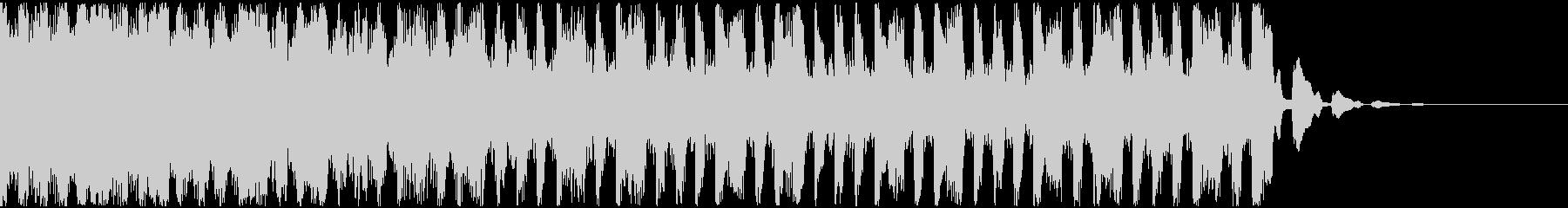 【EDM】トランス、ショート1の未再生の波形