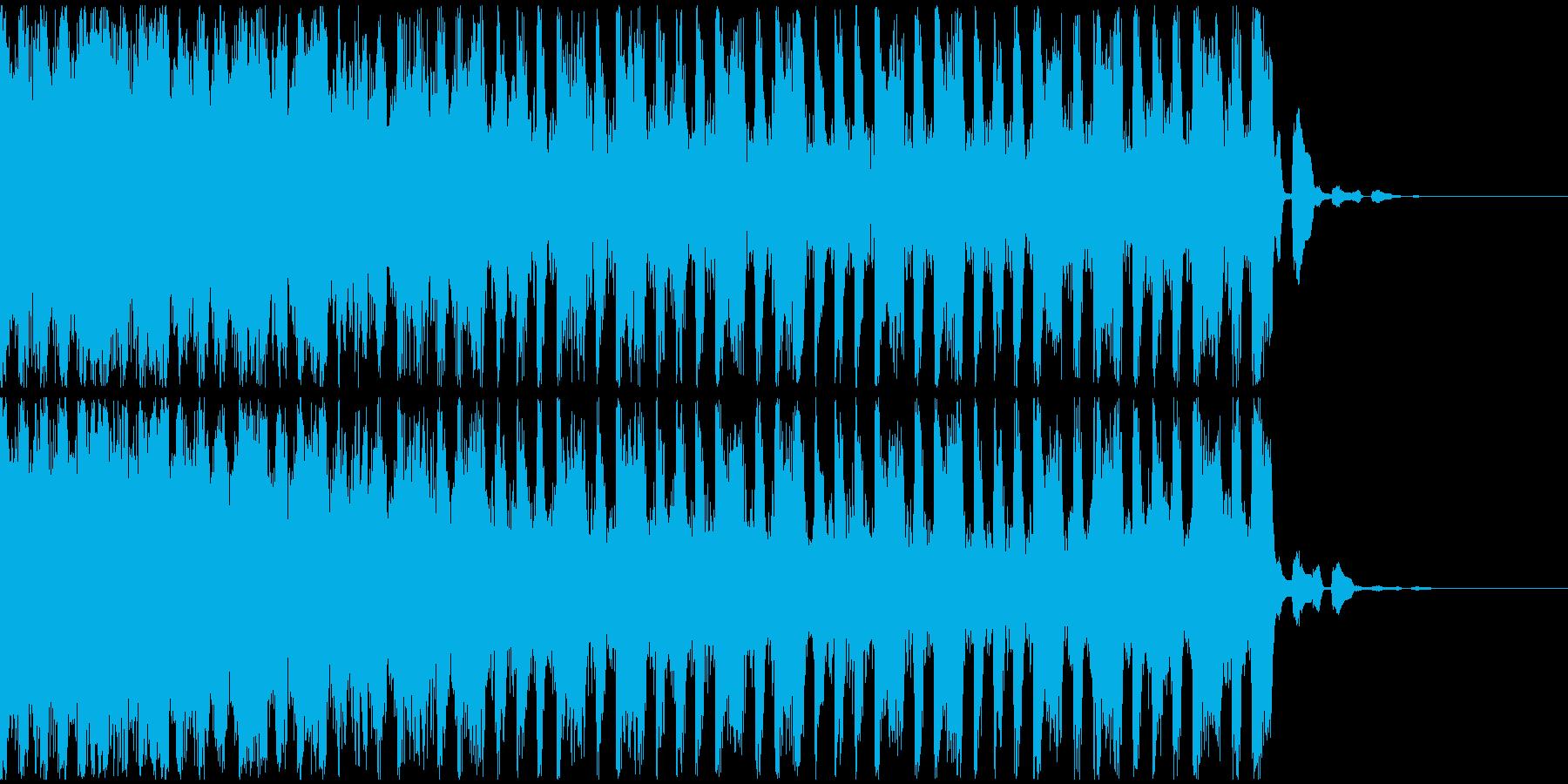 【EDM】トランス、ショート1の再生済みの波形