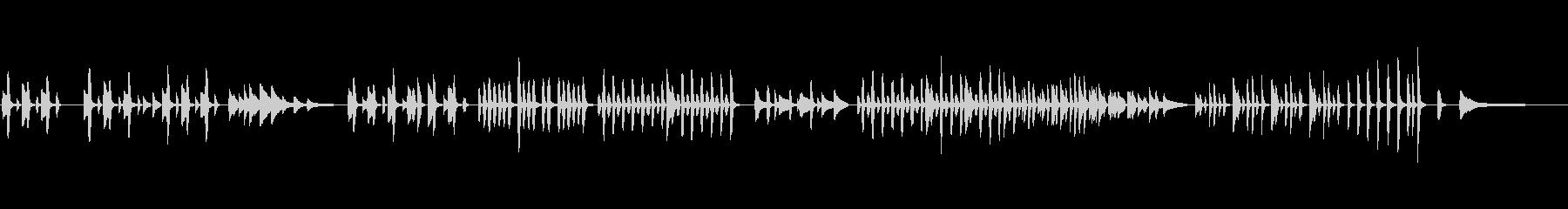 【劇伴】面白い話をイメージしたピアノ曲の未再生の波形