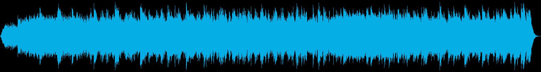 海や神秘的な癒しのイメージ#2(波音無)の再生済みの波形