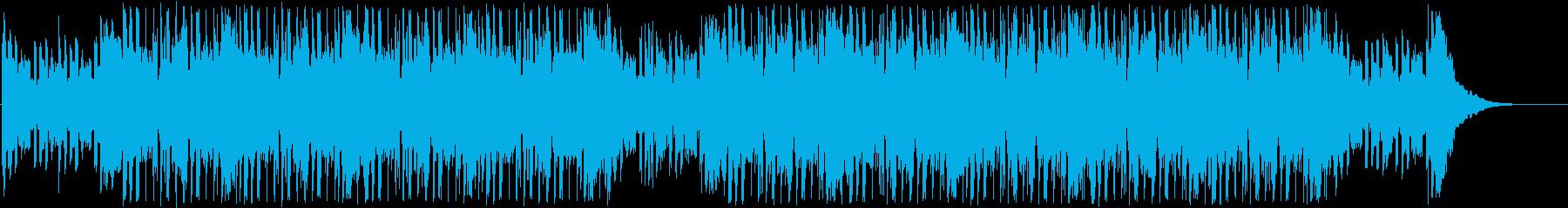トラップ、ヒップホップ、テクスチャーの再生済みの波形