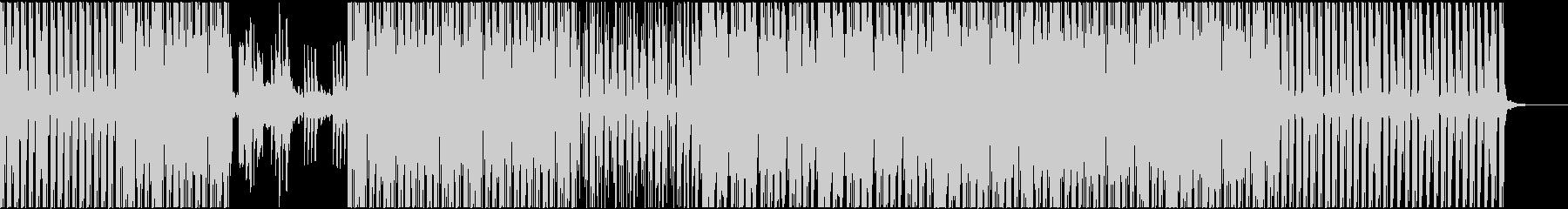 ハウス系BGMの未再生の波形