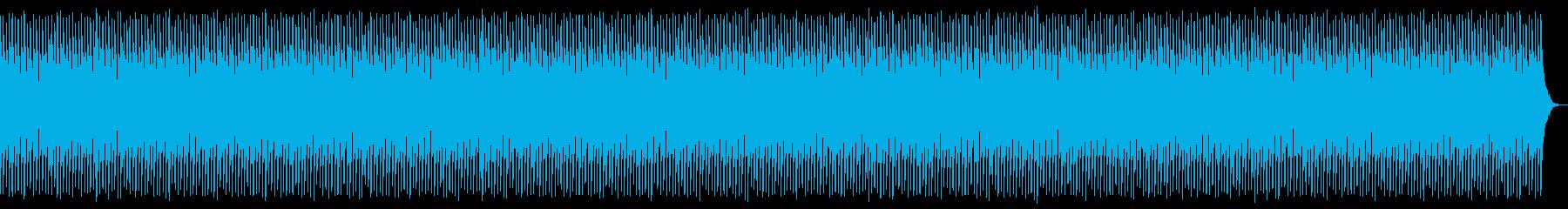 ギターなしの再生済みの波形