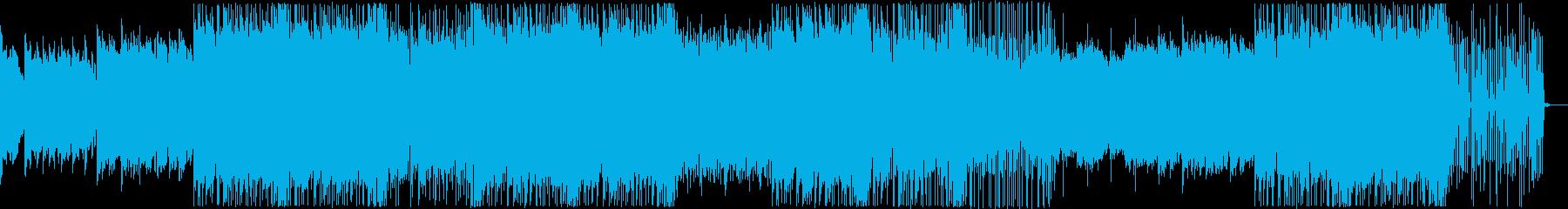 物悲しいCHILL系HIPHOPの再生済みの波形
