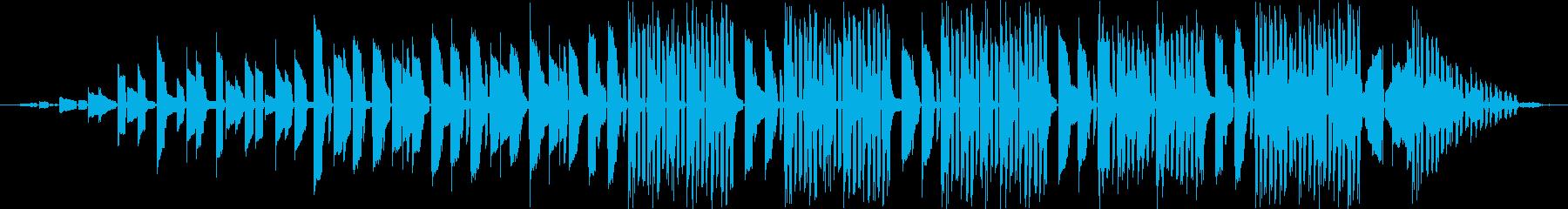 催眠的なエレクトロアンビエントディ...の再生済みの波形