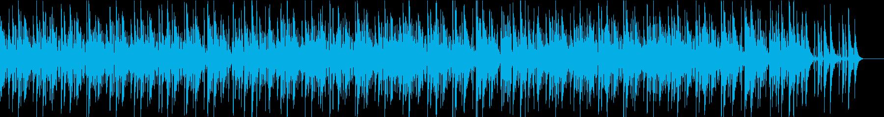 滑らかでスタイリッシュなジャズの再生済みの波形