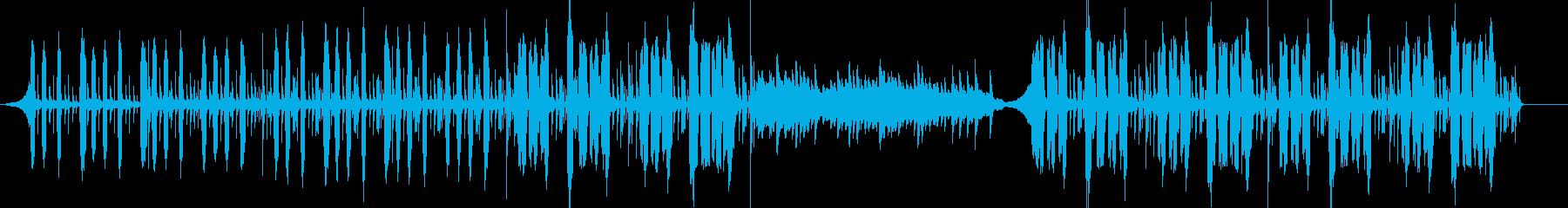 ピアノメインの優しく楽しいポップの再生済みの波形