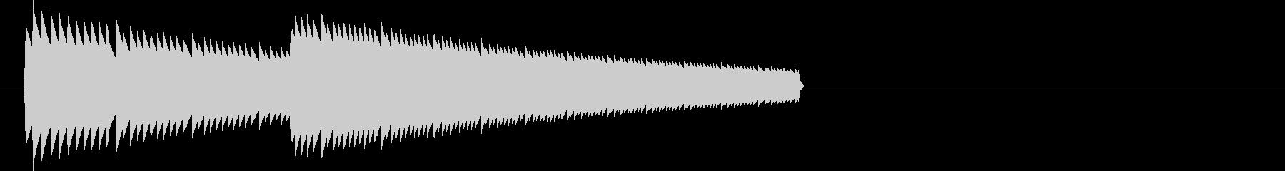 ビヨン(ジャンプ音・アイテム・チャージ)の未再生の波形