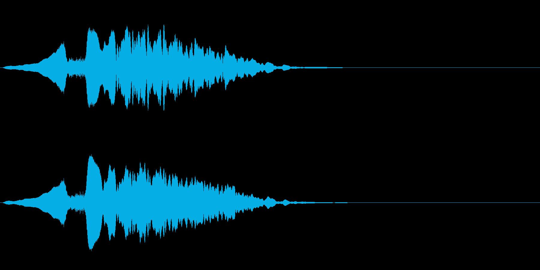 尺八 生演奏 古典風#8の再生済みの波形