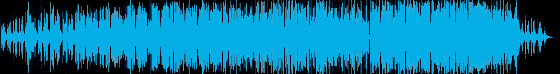 シンセが美しい幻想的なバラードの再生済みの波形