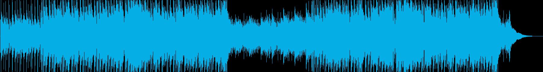 リズミカルで可愛いアコースティックポップの再生済みの波形