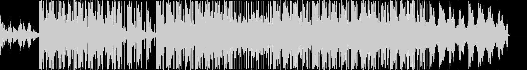 エモいLo-fiビートの未再生の波形