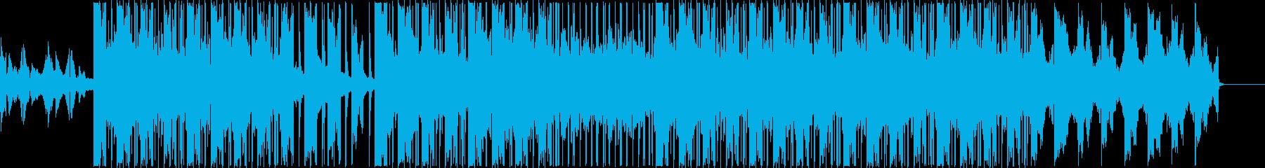エモいLo-fiビートの再生済みの波形