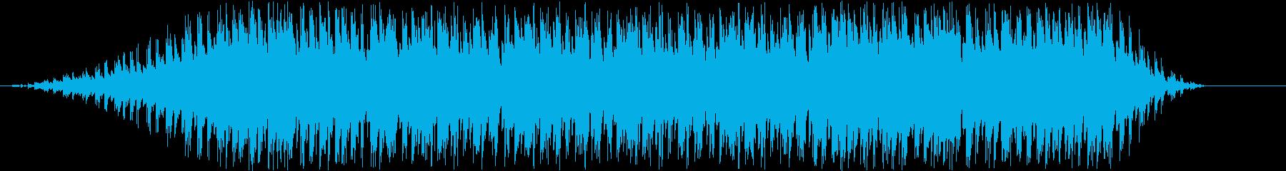 おしゃれなクラブ系ピアノBGMの再生済みの波形