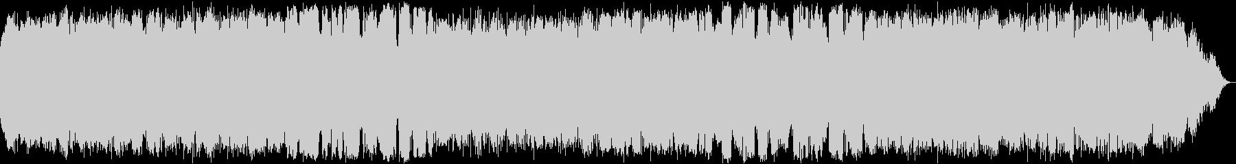 自然の音色のヒーリング音楽の未再生の波形