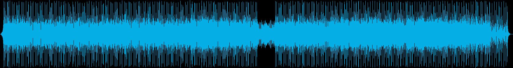 サイケデリックで反復的なトランス。催眠。の再生済みの波形