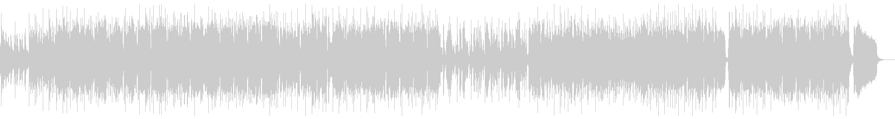 トランペットによるジャズバラードの未再生の波形