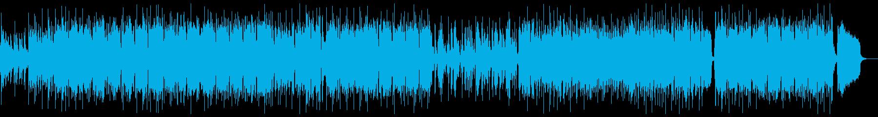 トランペットによるジャズバラードの再生済みの波形