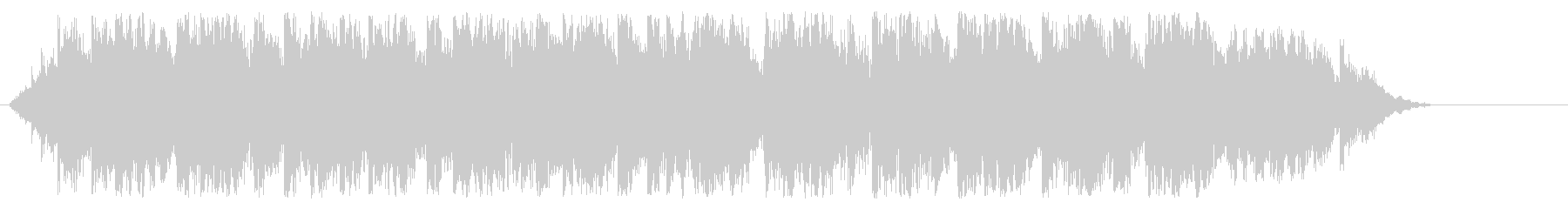 カリヨンの鐘の未再生の波形