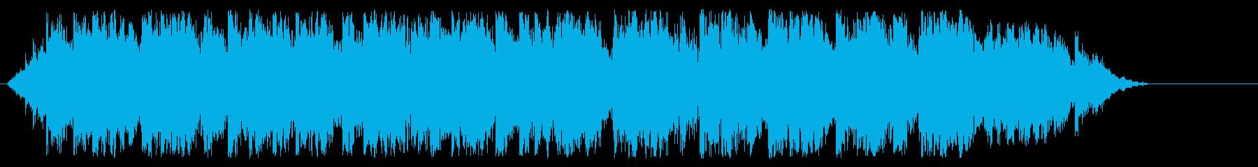 カリヨンの鐘の再生済みの波形