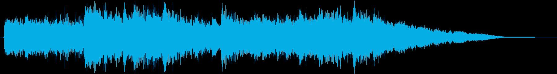 心地よい眠りのBGMの再生済みの波形