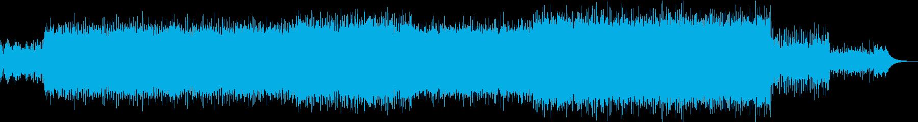 スローなパワーポップの再生済みの波形