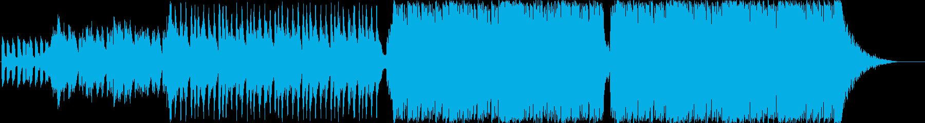 ドキュメンタリー緊迫(クワイアーなし)の再生済みの波形