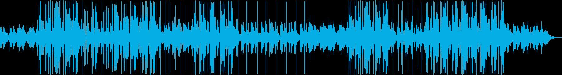 今っぽいヒップホップ、トラップソウルの再生済みの波形