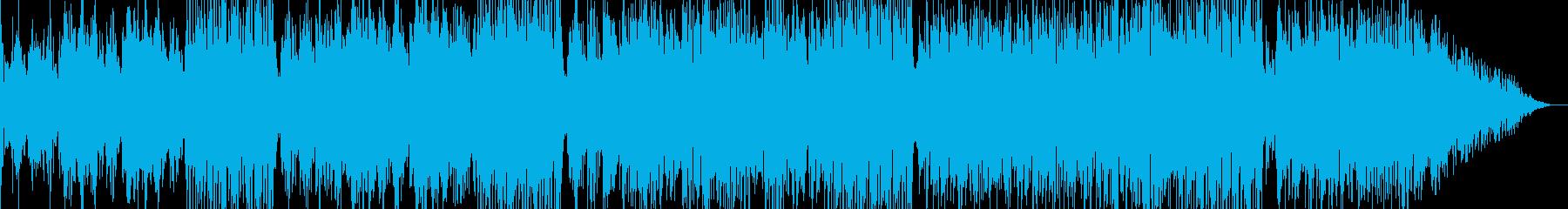 爽やかな海・16ビートの再生済みの波形