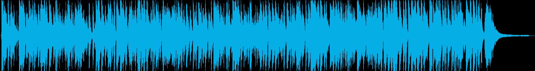 明るくゴキゲンなスイング!ジャズピアノの再生済みの波形