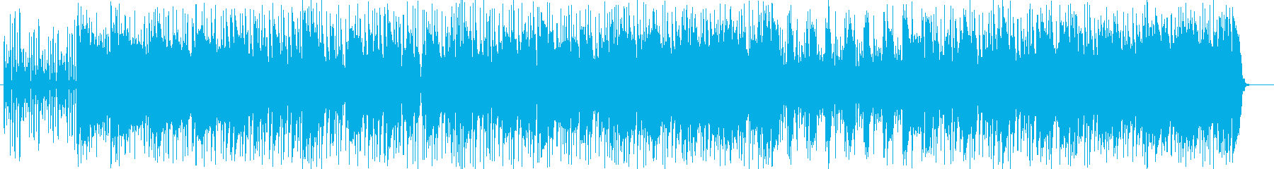 おしゃれなドラマ感のシンセギターサウンドの再生済みの波形