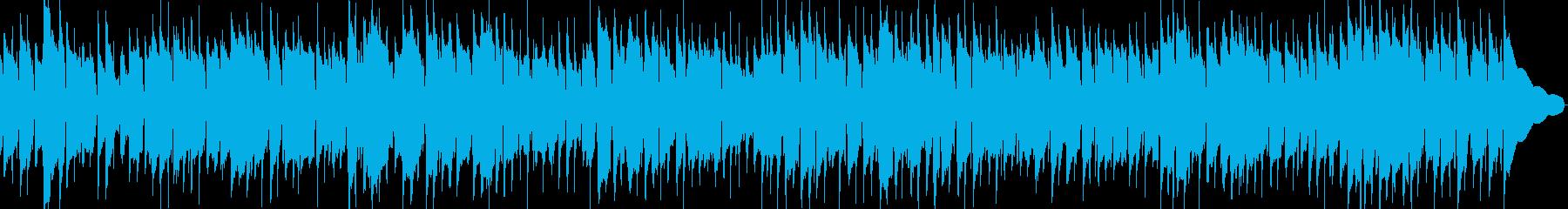 春の情景があうアコギのBGM の再生済みの波形