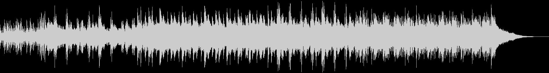 さりげなく少し切ないピアノのBGMの未再生の波形