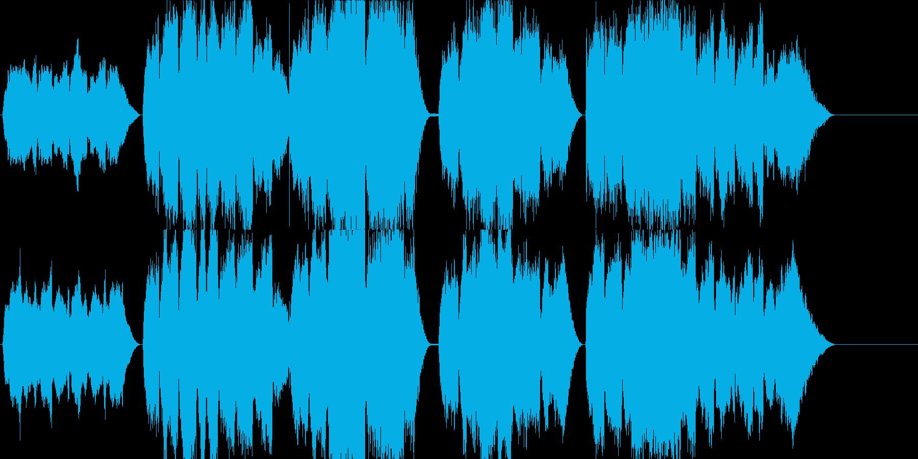 高音質♪国歌「君が代」発表シリーズの再生済みの波形