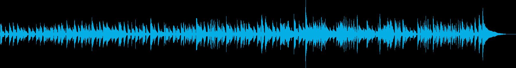生ギター ウキウキ ウォーキング ソロの再生済みの波形