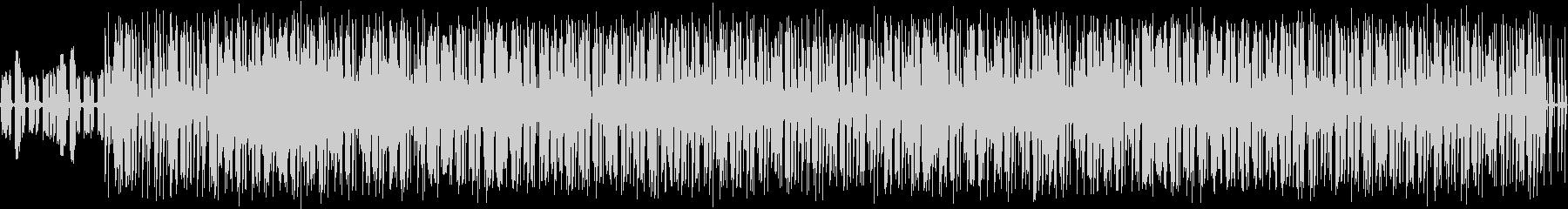 オールドスクールっぽいBGM#01の未再生の波形