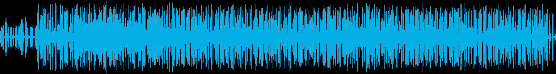 オールドスクールっぽいBGM#01の再生済みの波形