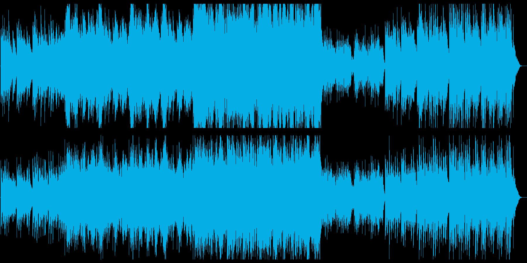 和風 ティンホイッスルと弦 幻想的の再生済みの波形